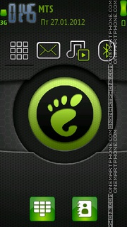 Green Theme tema screenshot