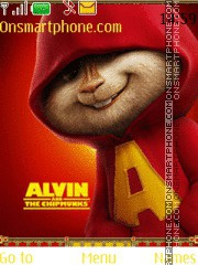 Alvin and the Chipmunks 01 theme screenshot