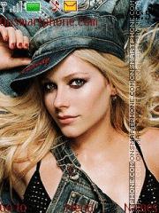 Avril Lavigne 02 theme screenshot