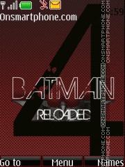 BatMan 4 theme screenshot
