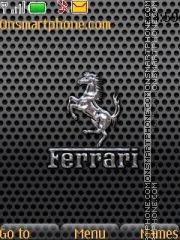 Ferrari With Ringtone theme screenshot