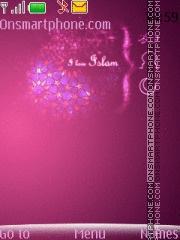 I Love Islam theme screenshot