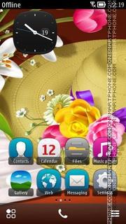 Capture d'écran Sombrero thème