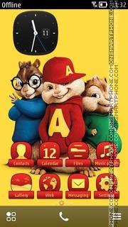 Capture d'écran Alvin And The Chipmunks 02 thème