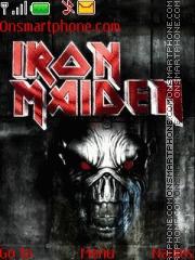Iron Maiden 07 theme screenshot