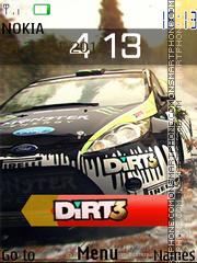 Dirt 3 es el tema de pantalla
