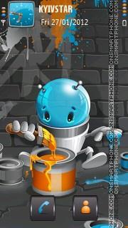 Roboartist! theme screenshot
