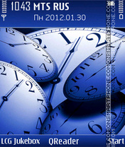 Time tema screenshot