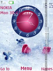 Card Game Clock 01 es el tema de pantalla