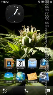 Weed 12 theme screenshot
