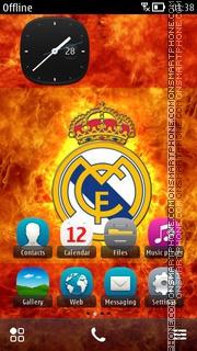 Real Madrid Spain 01 es el tema de pantalla