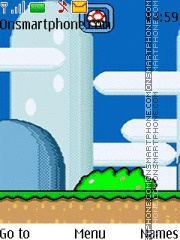 Super Mario World Theme es el tema de pantalla