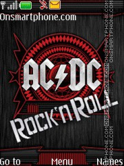 AC/DC - Rock N Roll es el tema de pantalla