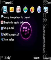 Blackberry theme screenshot