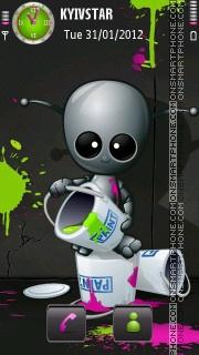 Robopainter theme screenshot