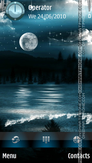 Full Moon theme screenshot