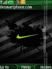 Nike 06 theme screenshot