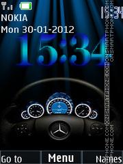 Speedometer 05 theme screenshot