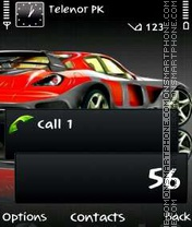 Mazda Rx8 theme screenshot