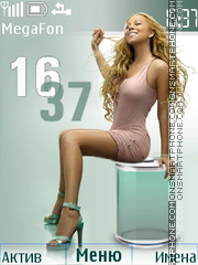 Mariah Carey theme screenshot