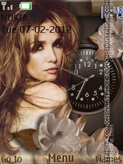 Natalia Oreiro theme screenshot