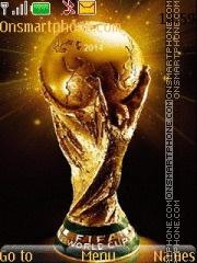 Fifa 2014 World Cup theme screenshot