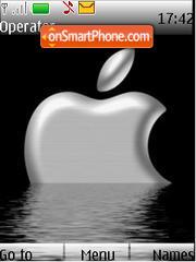 Apple Dark Ani es el tema de pantalla