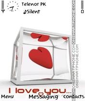 Love words es el tema de pantalla