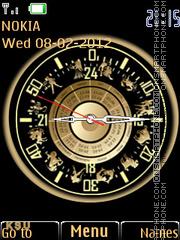 Zodiac Clock 02 es el tema de pantalla