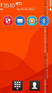 Next Vermilion 5th theme screenshot