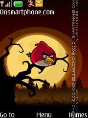 Angry Bird 06 theme screenshot