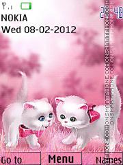 Cute Cats 03 es el tema de pantalla