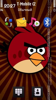 Angry Birds 20 theme screenshot