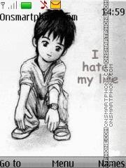 Hate Life theme screenshot