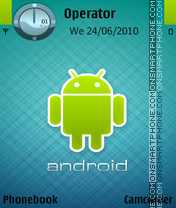 Android by amjad theme screenshot