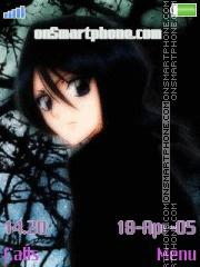 Kuchiki Rukia es el tema de pantalla