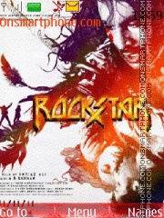 Rockstar (2011) theme screenshot