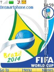 Brazil 2014 with Tone es el tema de pantalla