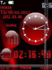 Nokia Red es el tema de pantalla