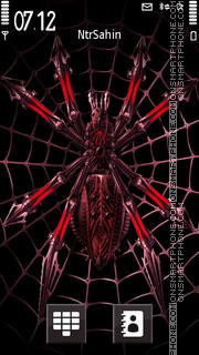 Mechanical Spider es el tema de pantalla