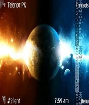 Planet 320x240 theme screenshot