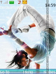 Flexible Dance theme screenshot