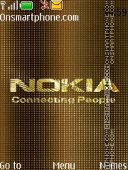 Capture d'écran Nokia Gold 02 thème