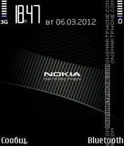 Nokia Black es el tema de pantalla