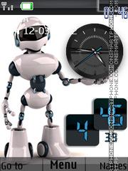 Robot theme screenshot