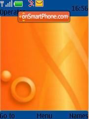 Orange 03 theme screenshot