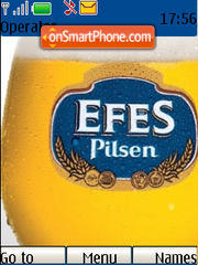 Capture d'écran Efes Pilsen thème