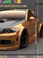 Great Bmw Car theme screenshot