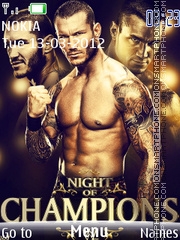 Randy Orton 03 theme screenshot