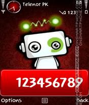 M9 red theme screenshot